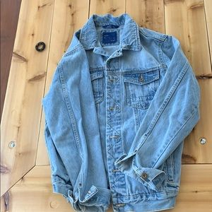 Zara oversized jean jacket
